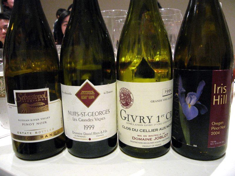 Burgundy and Pinot Noir